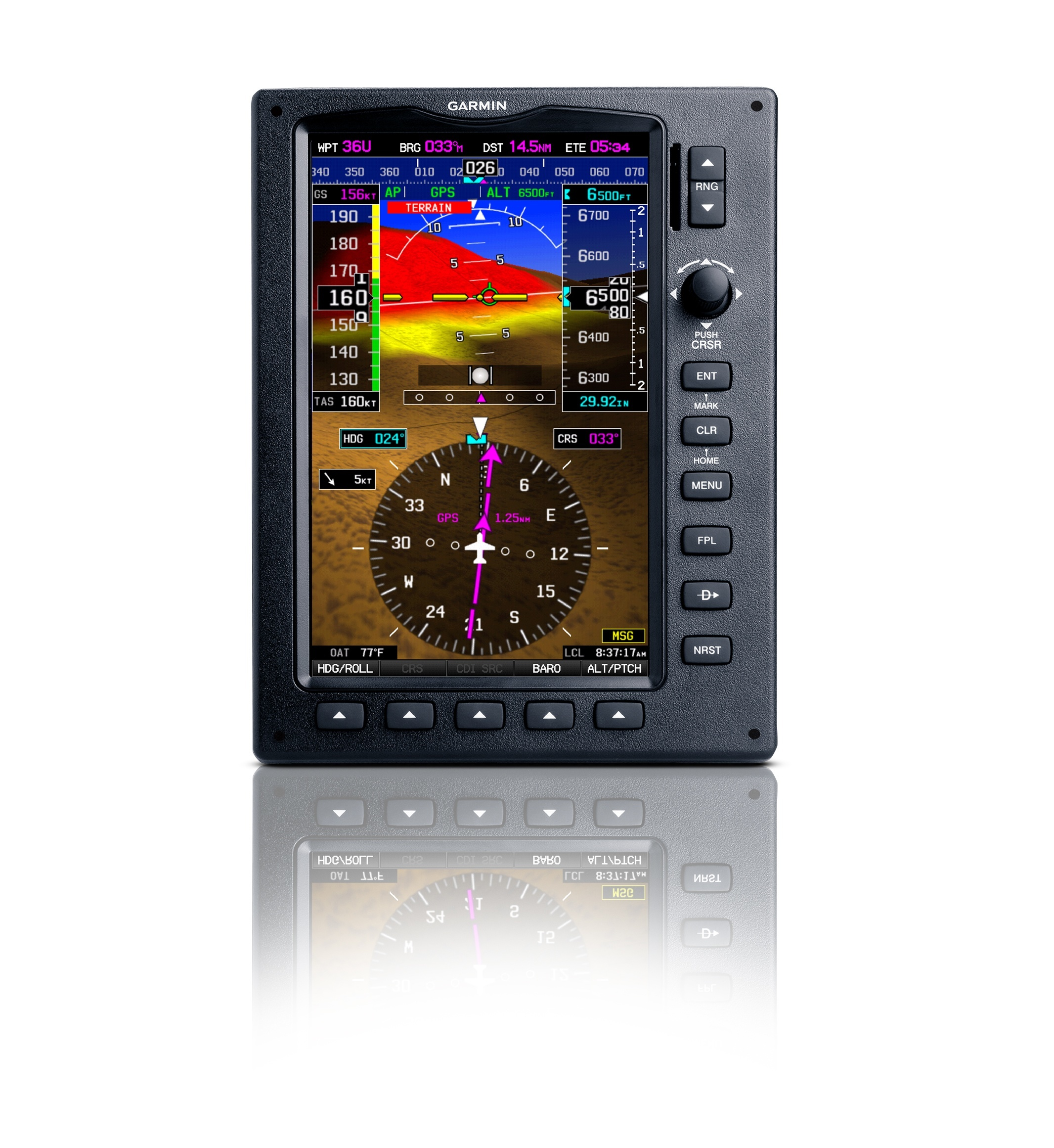 Garmin G300 and G3X Add Synthetic Vision, SVX