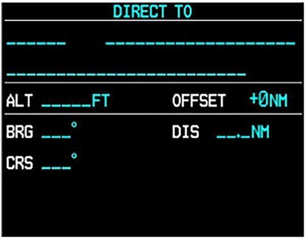 G1000 Direct-To VNAV