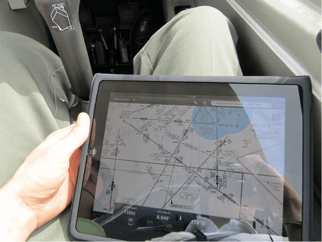 The Apple iPad as an Electronic Flight Bag