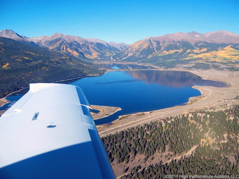 Cessna 400 Colorado Mountain Flying