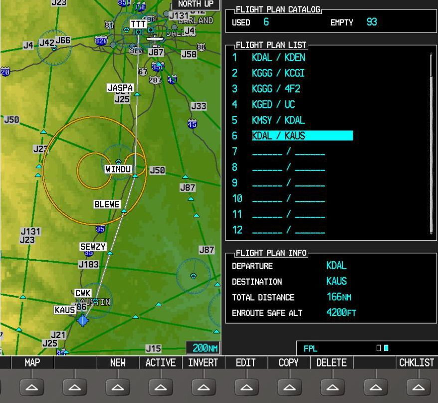 Flight Plans in the G1000