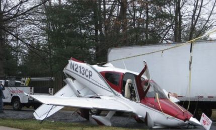 Crashed Cirrus