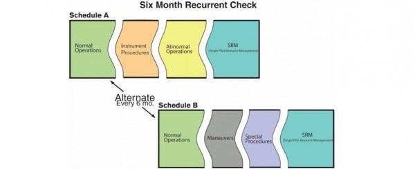 Cirrus Six Month Recurrency Check