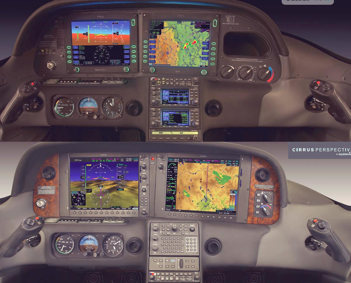 Avidyne and Perspective Panels
