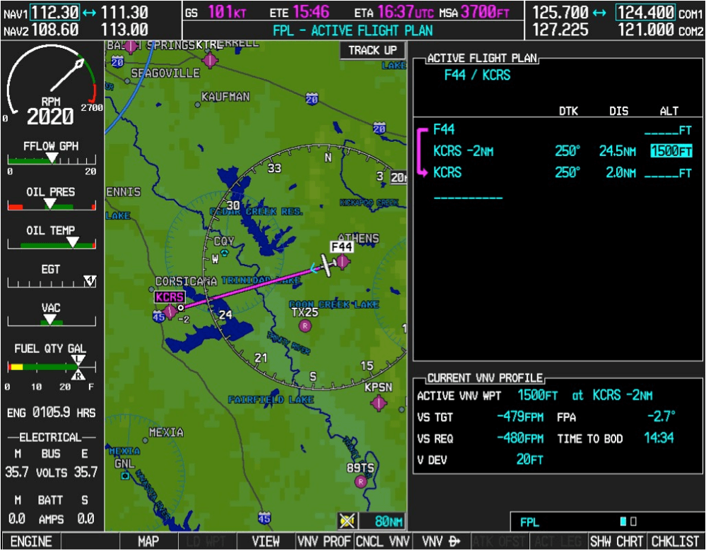 Garmin G1000 VNAV Tips and Tricks