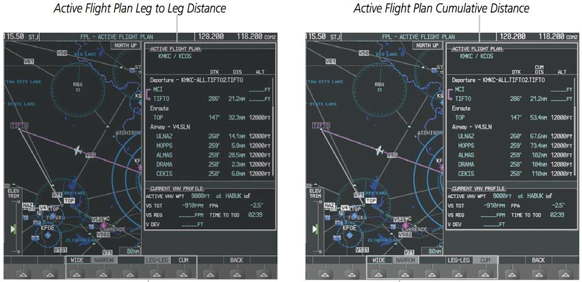 Leg-Leg vs. Cumulative Distance