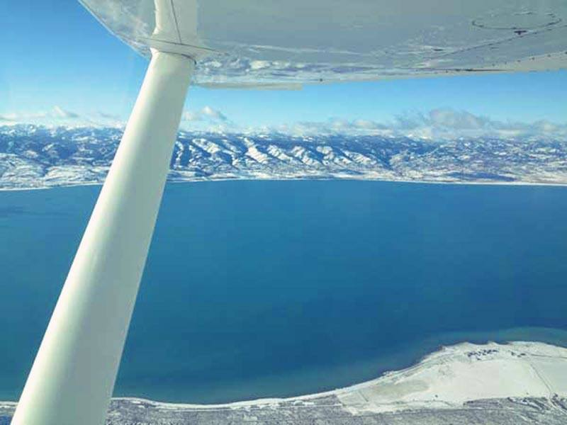 Mountain Flying in Utah, Idaho and Wyoming