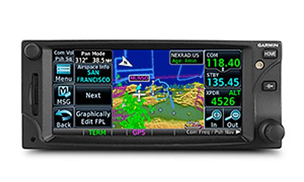 Garmin GTN 650 touch screen