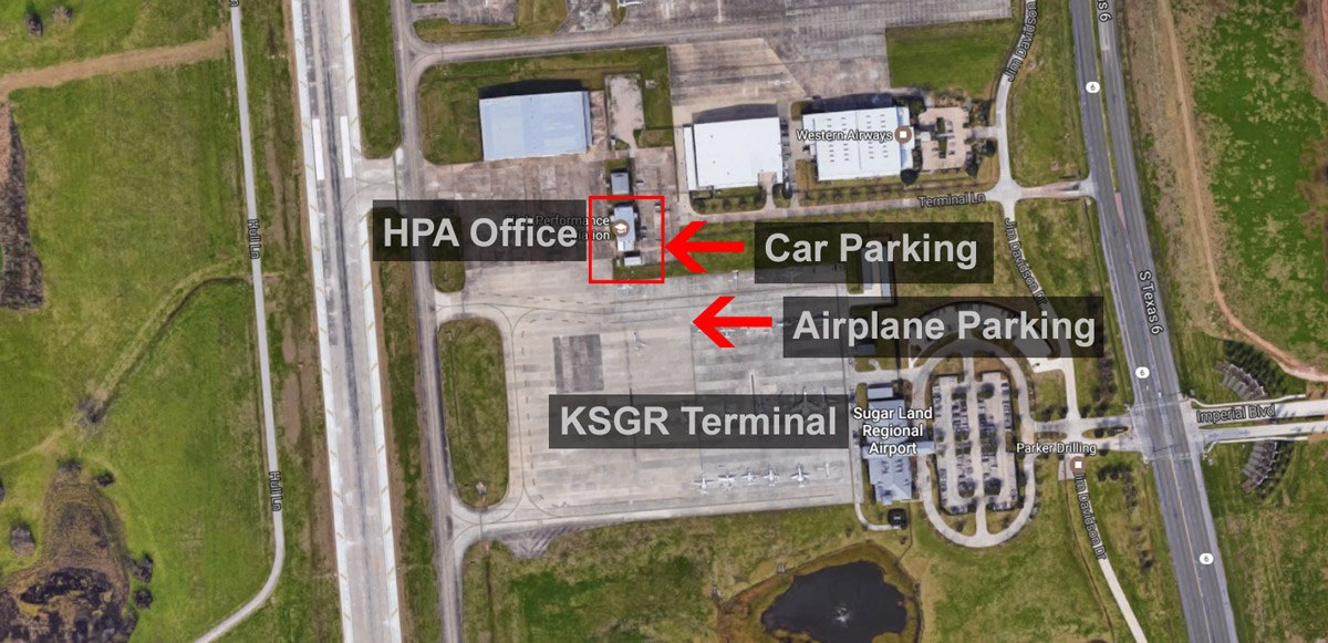 SGR-Map High Performance Aviation, LLC