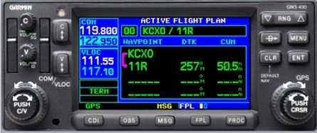 Direct-To vs. Flight Plan on your Garmin GPS