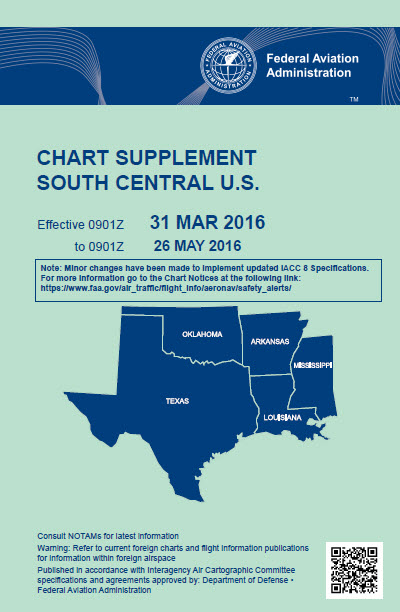 South Central Chart Supplement
