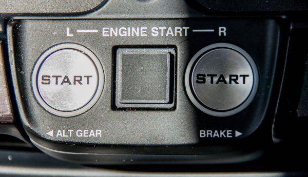 HondaJet Start Buttons