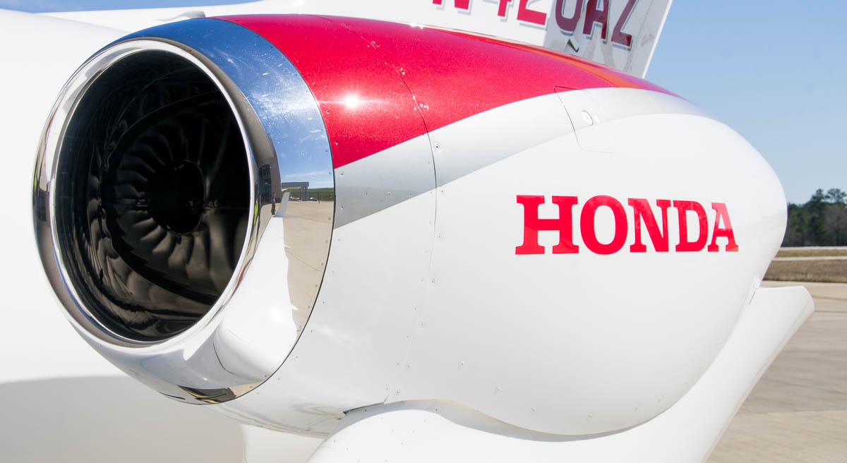 HondaJet Over the Wing Engine Mount