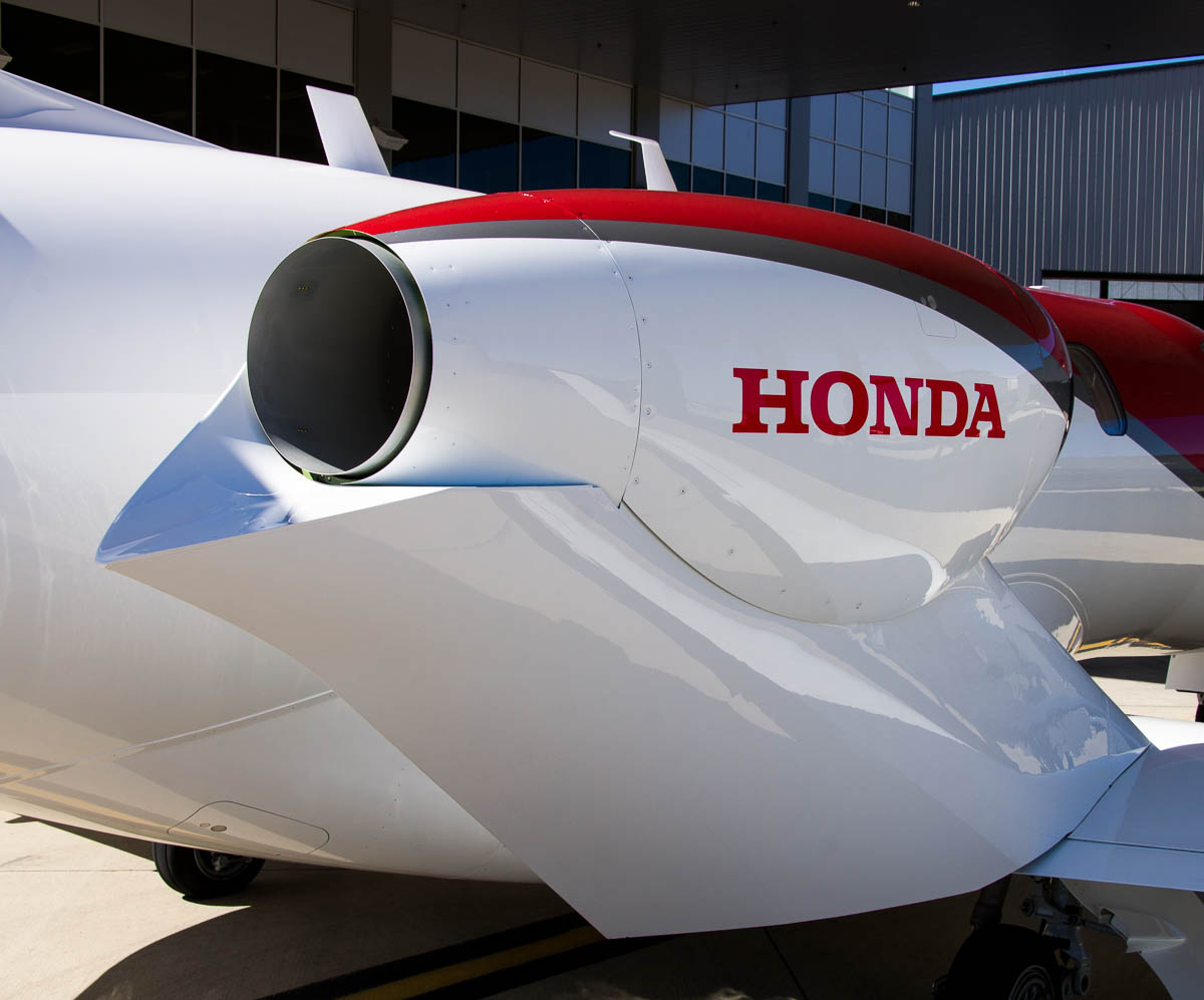 HondaJet Over the Wing Engine Mount
