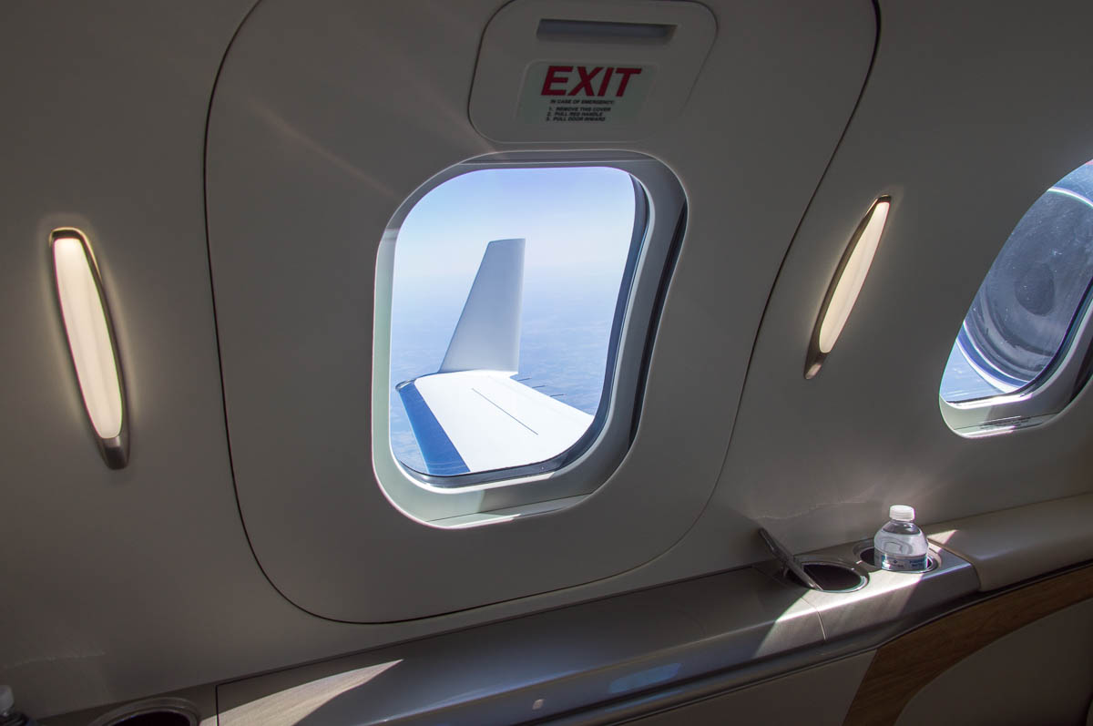 HondaJet Interior