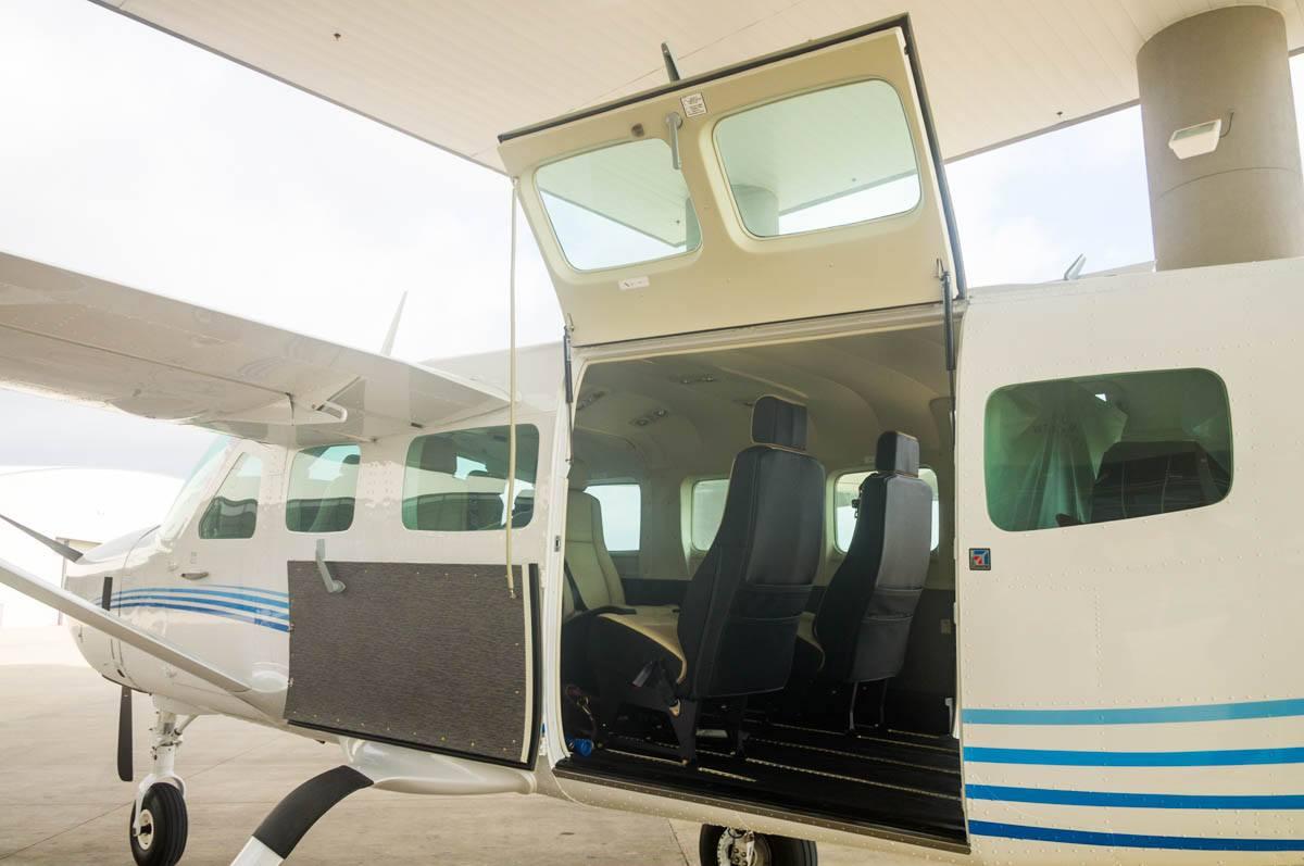 Cessna Caravan Review Cargo Door