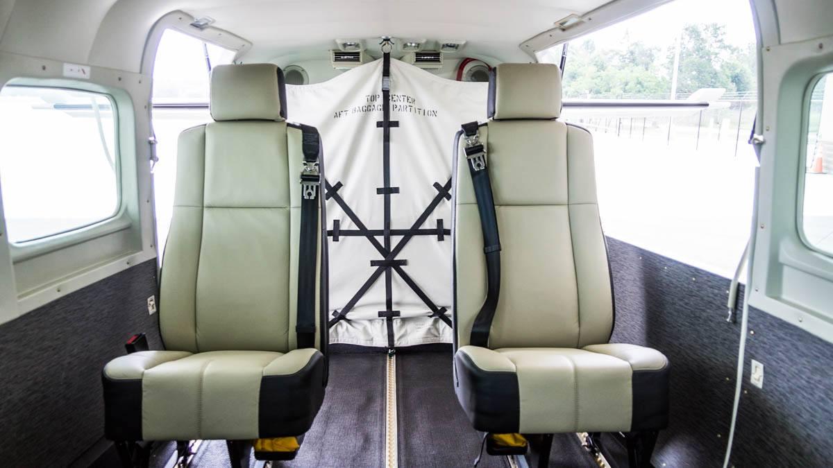 Cessna Caravan Review - Interior Aft