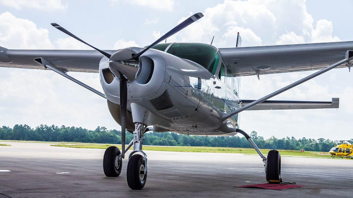Cessna Caravan Review - Front
