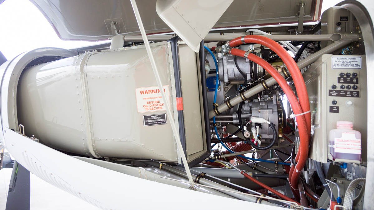 Cessna Caravan Review - Engine Left Side