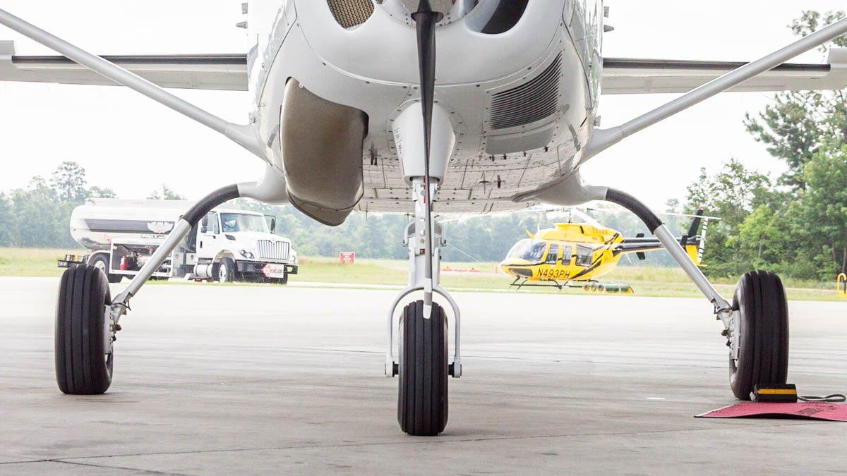 Cessna Caravan Review - Landing Gear