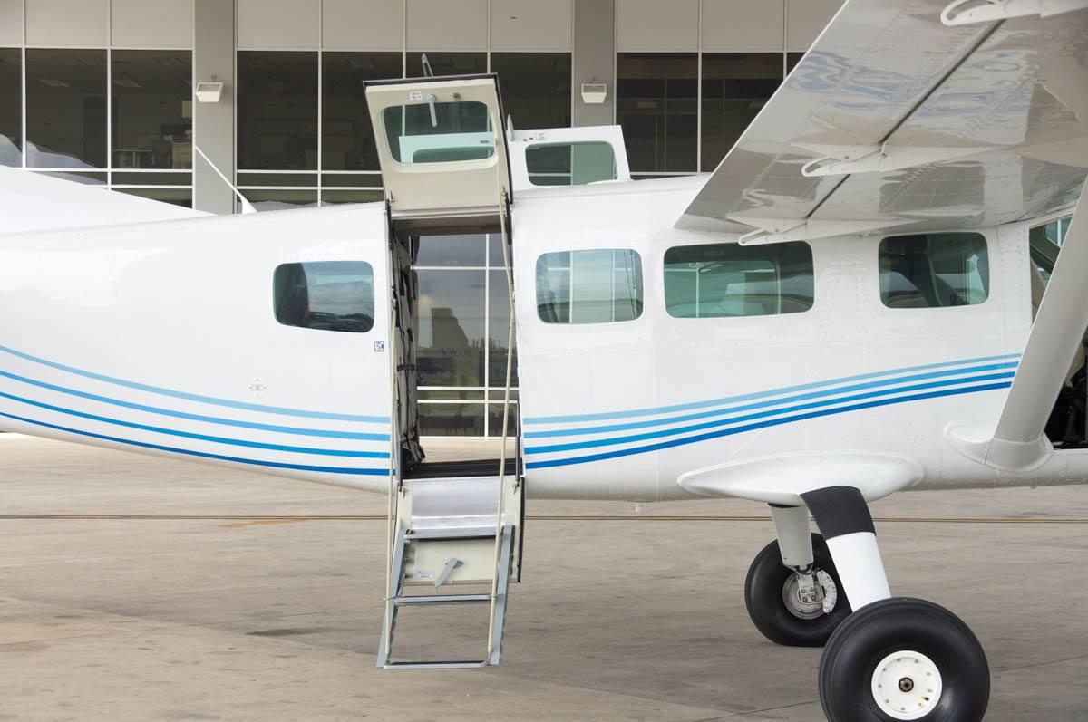 Cessna Caravan Review - Rear Right Entry Door