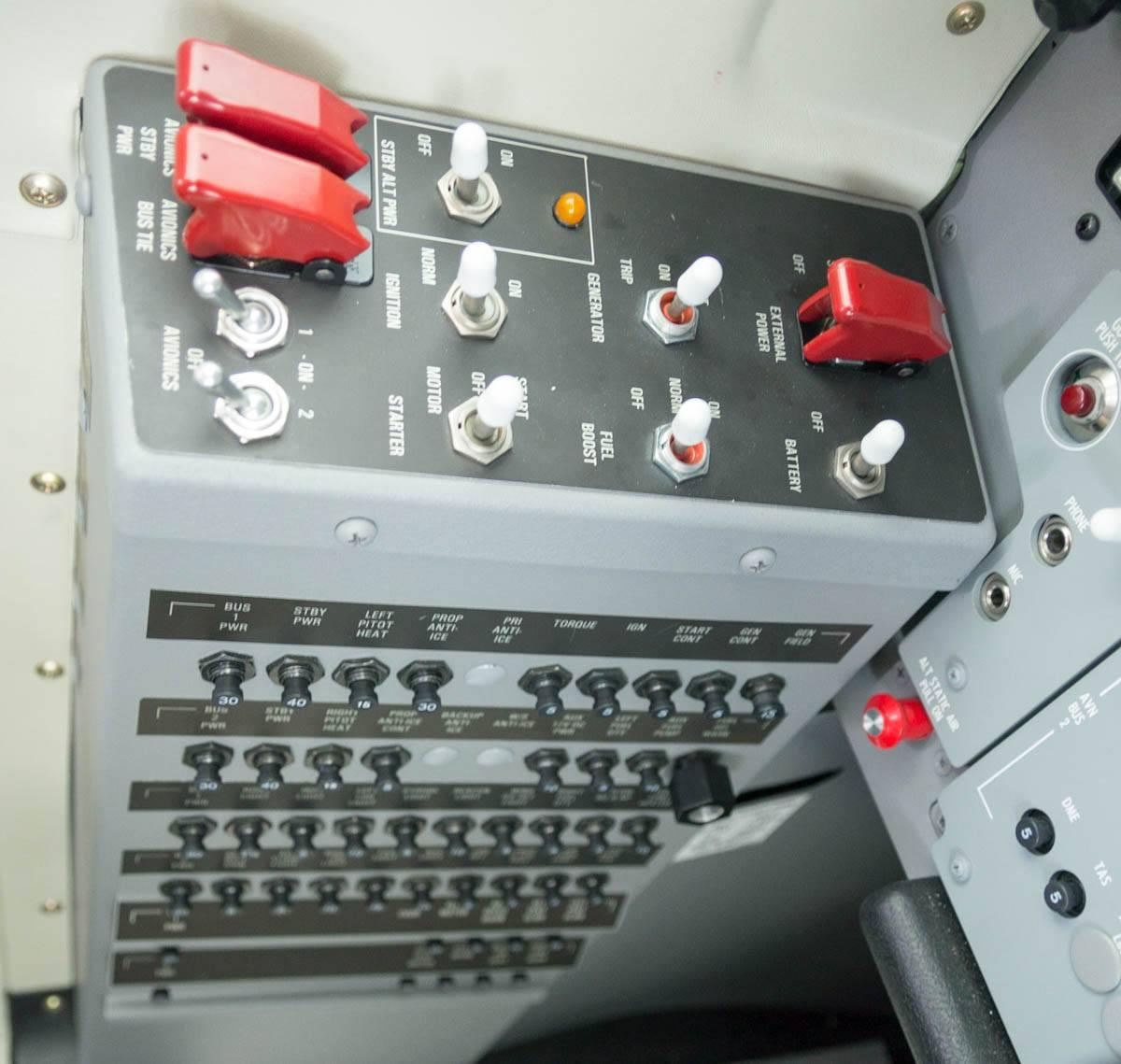 Cessna Caravan Review - Standby Alternator
