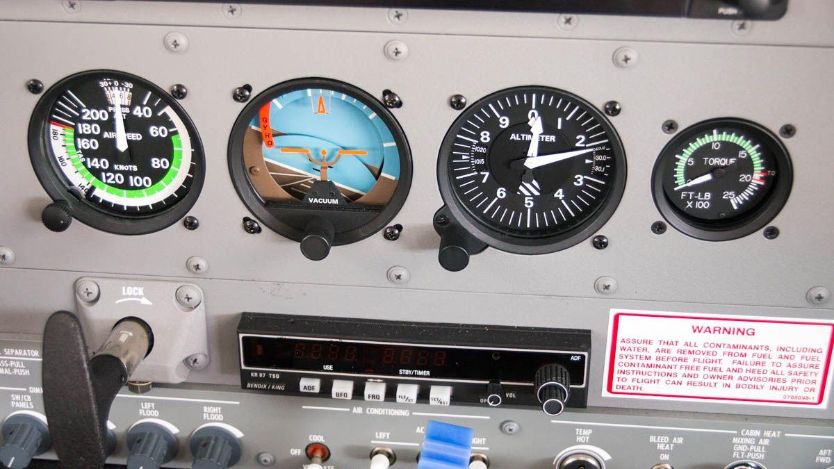 Cessna Caravan Review - Standby Flight Instruments