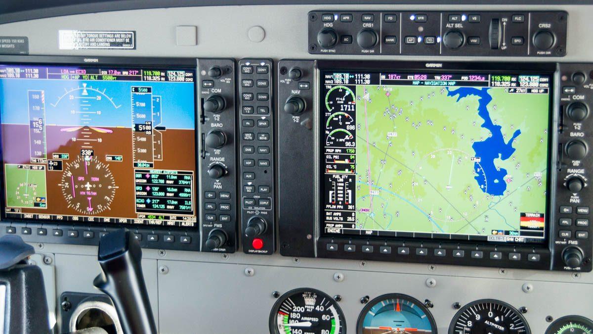 Cessna Caravan Review - Garmin G1000 Integrated Flight Deck