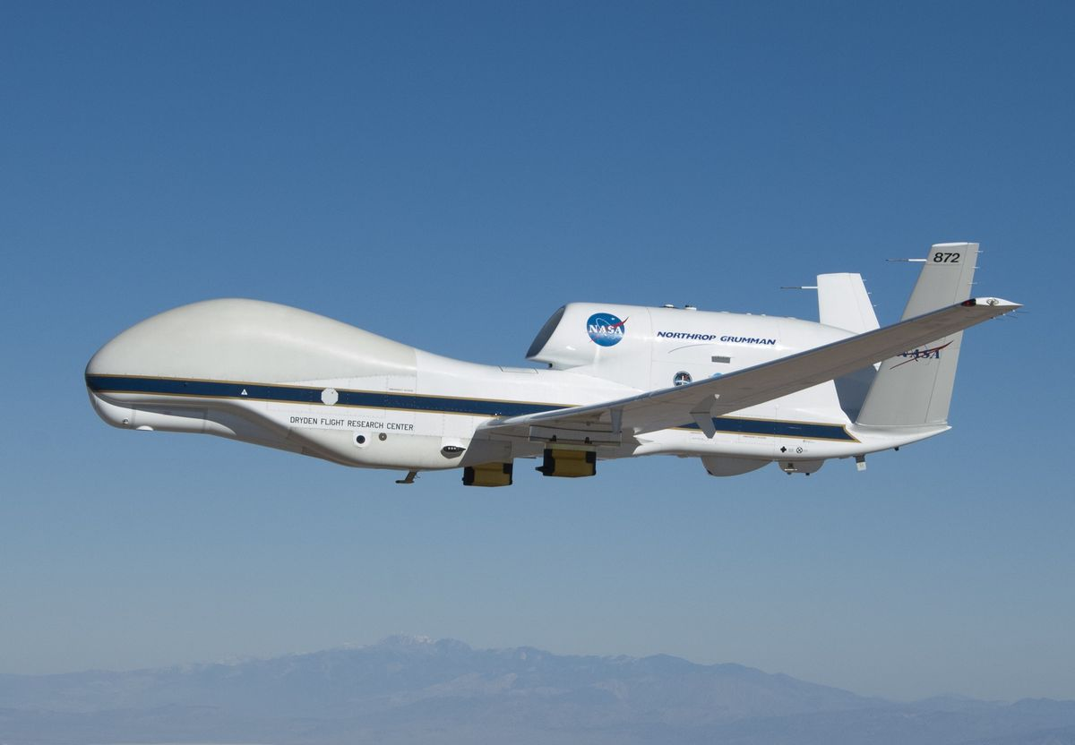 A Peek into the Future; Large UAS in the National Airspace System