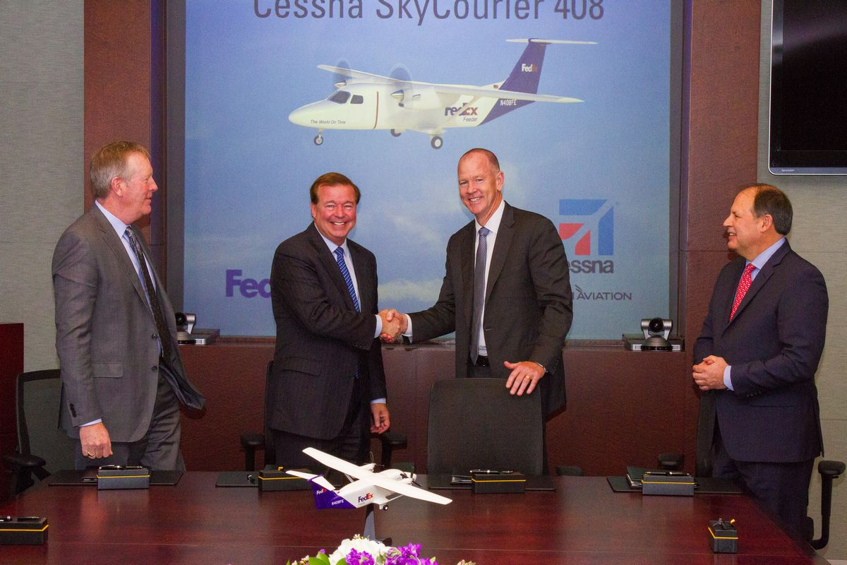 Textron Aviation Unveils the Cessna SkyCourier