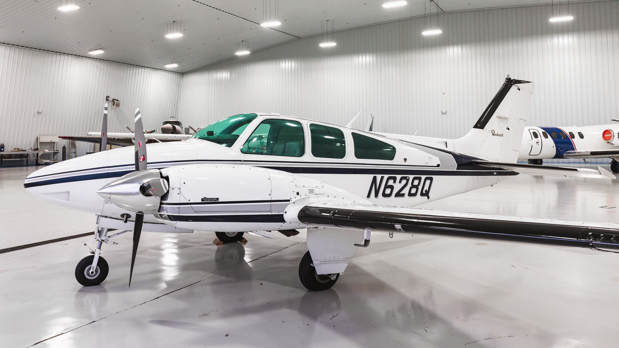 N628Q Beech B55 Baron For Sale