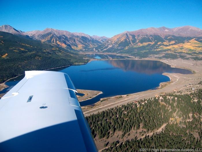 Cessna 400 Colorado Mountain Flying