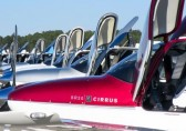 Line of Cirrus Aircraft